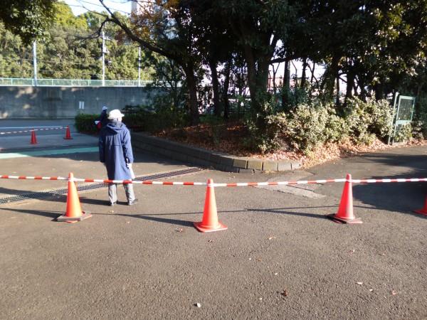 品川・大井スポーツの森大会 外周から公園へ戻る地点の画像