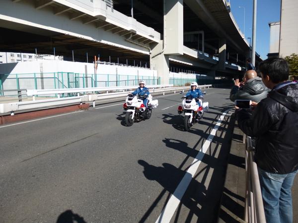 第37回 神奈川マラソン 白バイ