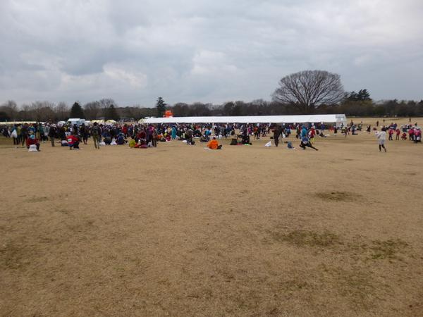 立川シティハーフマラソン2015 会場の様子