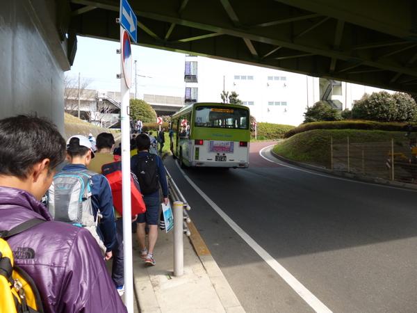 2015板橋Cityマラソン 臨時バス