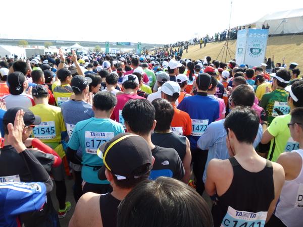 2015板橋Cityマラソン スタート直前