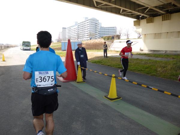 2015板橋Cityマラソン 折り返し地点