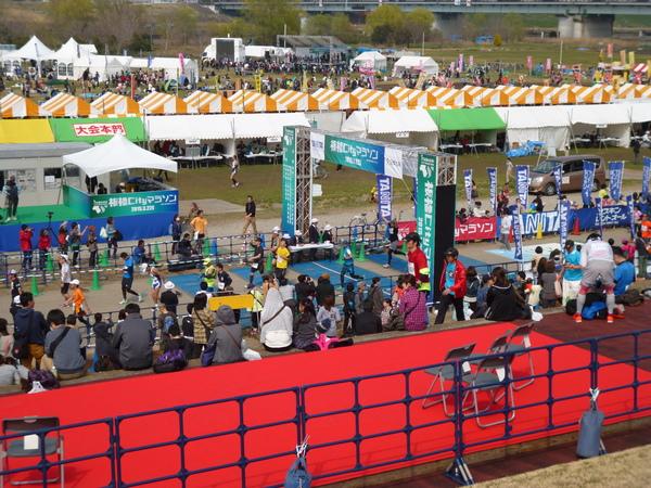 2015板橋Cityマラソン フィニッシュ