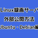 SoftEther VPNでLinux録画サーバを外部公開する方法(Ubuntu・Debian編)