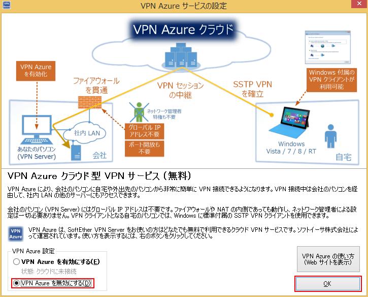 VPN Azureサービスの設定