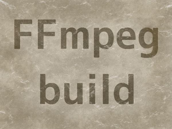 FFmpeg build 2
