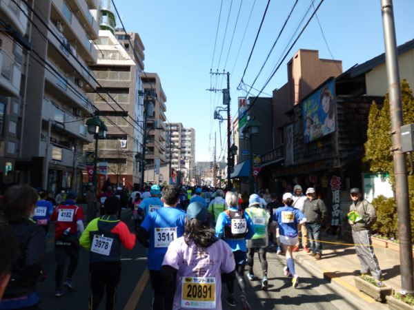 第51回青梅マラソン 2km付近