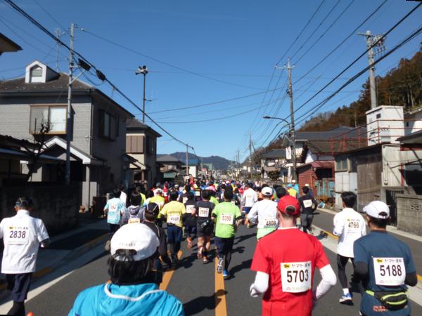 第51回青梅マラソン 5km付近