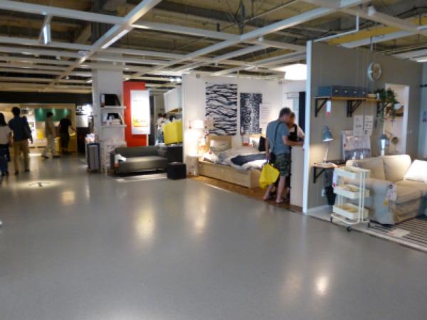 IKEA立川 2階ショールーム