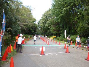 立川マラソン2017 競技風景