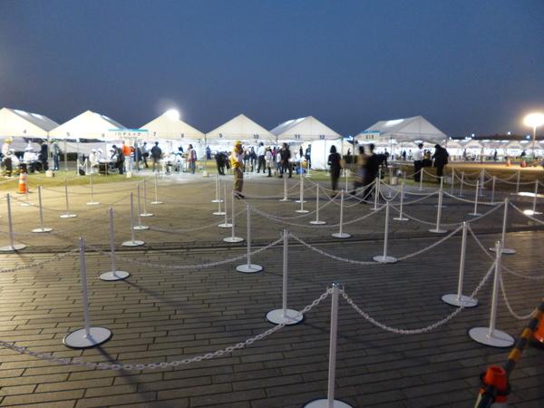 横浜マラソン2017 受付会場 ランナー受付