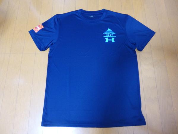 横浜マラソン2017 受付会場 Tシャツ