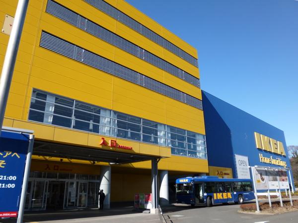 IKEA港北 入り口