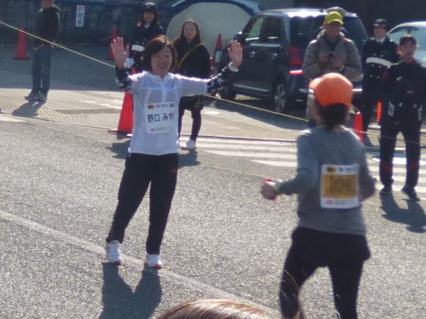 第53回青梅マラソン 野口みずきさん
